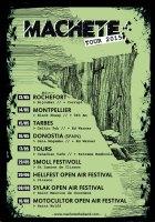machete affiche tour 2015 1 (1)